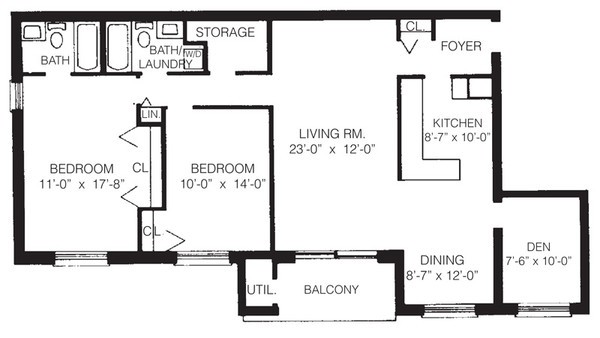 2-a two bedroom with den